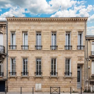 Restauration et surélévation d'un immeuble Bordelais Ducau
