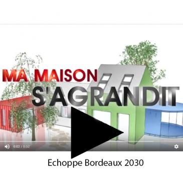 Ma maison s'agrandit Echoppe Bordeaux 2030
